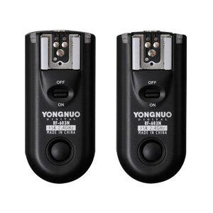 N3【第二世代!!】YONGNUO製 RF603NII-N3 第二世代 ワイヤレス・ラジオスレーブ 無線レリーズ ニコン用セット Nikon D90、D600、D3000シリーズ、D5000シリーズ、D7000シリーズなど対応  【正規品 純正品 3