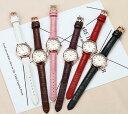 レディース 腕時計SANDA ホワイトフェイス アナログ腕時計 ファッ...