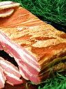 【送料無料】銘柄豚「白金豚」のプラチナベーコン(ブロック)ステーキにいかが?シンプルパック