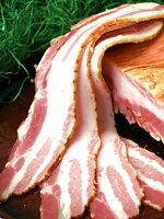 【送料無料】銘柄豚「白金豚」のプラチナベーコン(うす切)お求めやすいシンプルパック