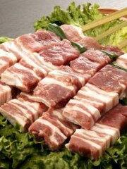 七輪、オーブンで、もちろんアウトドアも楽しいよ!【送料無料】 白金豚の大串、楽天12本セット