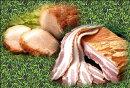 【送料無料】白金豚のお試しセットベーコンとチャーシュー、味わい食べ比べ!