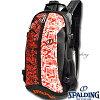 SPALDINGケイジャーグラフィティバスケットボールバッグバスケ収納カバンスポルディング40-007GF