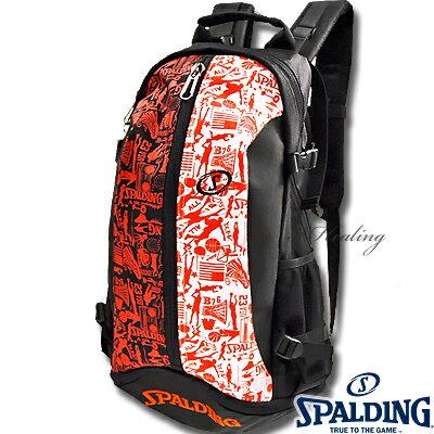SPALDINGケイジャー グラフィティ バスケットボールバッグ バスケ収納カバン スポルディング40-007...