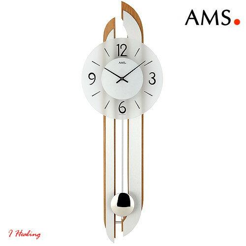 ドイツAMS7330 18振り子時計 AMSアムス社ドイツ製:アイヒーリング