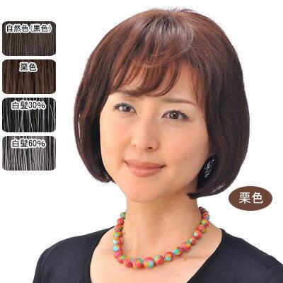 女性用モアヘアピース 部分かつら(ブラシ・コーム付)【送料無料】 ヘアピース