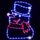 LEDチューブライトモチーフトゥインクル スノーマン