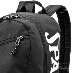 SPALDINGHALFDAYバックパックハーフデイブラックバスケットボール用バッグ大容量35Lメンズレディースカジュアルリュックスポルディング50-003BK
