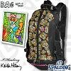 キースヘリングリュックアンディマウススポルディングケイジャー収納バスケットボールバッグSPALDING40-007KHAM
