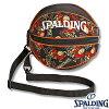 スポルディングボールバッグバッグスバニーブラックレッドバスケットボール収納SPALDING49-001BB