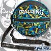 スポルディングボールバッグ正義の味方バットマンブラックブルーバスケットボール収納SPALDING49-001BM