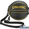 SPALDINGボールバッグゴールドバスケットボール1個収納スポルディング49-001GD