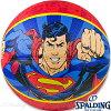 スポルディングヒーローバスケットボール7号スーパーマンブルーレッドラバーSPALDING5057-SUPER