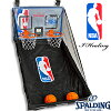 スポルディングNBAデュアルゲームシステムドア掛けバスケットボールおもちゃデジタル表示SPALDING6091