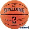 外用NBAバスケットボール7号SPALDINGオフィシャルNBAゲームボールレプリカスポルディング83-044Z