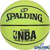 SPALDINGグローインザダーク光る蓄光ストリート用バスケットボール7号ラバースポルディング73-7378