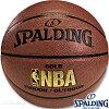 高級バスケットボール7号SPALDINGゴールド試合球スポルディング74-610Z【送料無料】