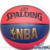 スポルディングバスケットボール7号NBAトリコロール合成皮革SPALDING74-681Z