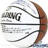 メッセージ書けるバスケットボール7号SPALDINGシグネチャーボールスポルディング74-790Z