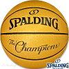 バスケットボール7号SPALDINGNBAチャンピオンボールゴールドスポルディング74-8528【送料無料】
