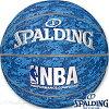 スポルディングバスケットボール7号NBAデジタルカモブルー合成皮革SPALDING74-976Z