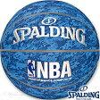 スポルディング バスケットボール7号NBAデジタルカモ ブルー 合成皮革 SPALDING74-976Z
