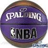 スポルディング癒しバスケットボール7号パールコンポジットネイビー合成皮革SPALDING76-040Z