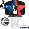 basketballjunkyマイクロミニスラムディング+1楽しいスポーツ犬パンディアーニ君バスケットボール壁掛けバスケットゴールSPALDING77-999BJ