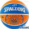 外用スポルディングバスケットボール7号NBAニューヨークニックスラバーSPALDING83-159Z