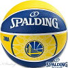 スポルディングバスケットボール7号ゴールデンステイトウォリアーズラバーSPALDING83-304Z