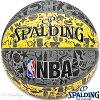 スポルディングバスケットボール7号グラフィティ壁画柄イエローラバーSPALDING83-307Z