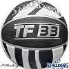 スポルディングTF-33ゼブラ縞模様バスケットボール7号ラバーSPALDING83-409J