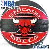 スポルディングバスケットボール7号2017NBAシカゴブルズラバーSPALDING83-503Z