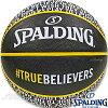 スポルディングバスケットボール7号トゥルービリーバーズブラックラバーSPALDING83-658J