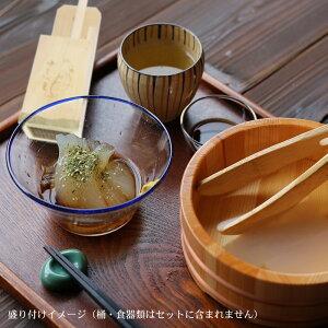 ギフト柿田川名水ところてん6人前・風呂敷包みミニ突き棒付きギフトお中元asu