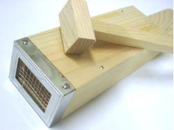 切れ味のいいステンレス刃ところてん突き棒ところてん突き檜造り ステンレス刃【楽ギフ_包装】