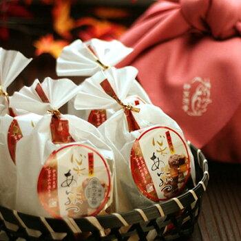 竹かご入りあんみつ4種類セット【楽ギフ_包装】和菓子プレゼントや贈り物・わがし和スイーツプチギフトに