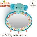 ブライトスターツ シー&プレイ オートミラー  8817 Bright Starts ミラー 鏡 赤ちゃん 知育玩具 オモチャ 知育玩具 出産祝い 誕生祝い 子供 こども キッズ ベビー 赤ちゃん 男の子 女の子 お誕生日プレゼント
