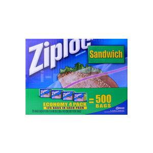 ジップロック製のサンドウィッチバッグです。ジップロック サンドウィッチバッグ 500枚入り【海...
