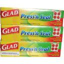 グラッド プレス&シール 3本セットGLAD Press'n s Seal グラッドプロダクツ プレス&シール マジックラップ