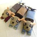アイピロー ポチ 手織り 犬 イヌ Nepalibazaro ネパリバザーロ フェアトレード fairtrade