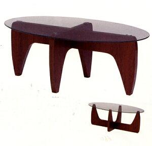 【送料無料】お洒落なガラス天板テーブル