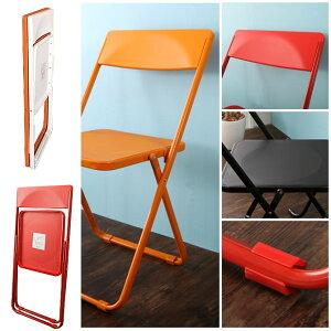 折りたたみ椅子フォールディングチェア2台セット軽くて丈夫コンパクトな折りたたみチェアSLIMスリム折りたたみチェア『productdesignaward2011』金賞背もたれ付き[代引不可]