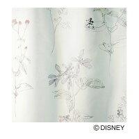 DisneyMICKEYHerbVoile&Lace100×176cm1.5倍ヒダ1枚既成カーテンレースカーテンMICKEY日本製(代引不可)(送料無料)Disneyミッキーハーブウォッシャブルdisneyディズニー