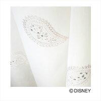 DisneyMICKEYTiaraVoile&Lace100×176cm1.5倍ヒダ1枚既成カーテンレースカーテンMICKEY日本製(代引不可)(送料無料)Disneyミッキーティアラウォッシャブルdisneyディズニー