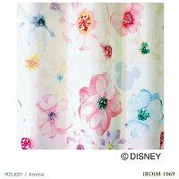 DisneyMICKEYAromaVoile&Lace100×176cm1.5倍ヒダ1枚既成カーテンレースカーテンMICKEY日本製(代引不可)(送料無料)Disneyミッキーマウスアロマウォッシャブルdisneyディズニー