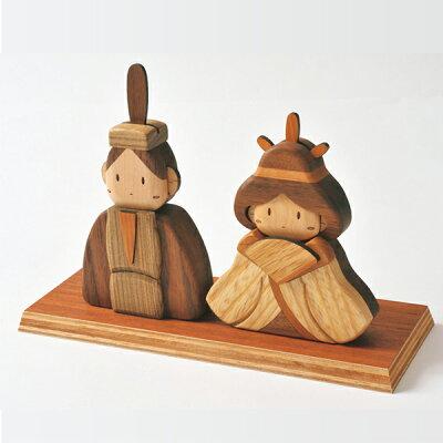 北海道旭川クラフト。ササキ工芸社製ウッドクラフト 室内に飾ることのできるコンパクトサイズ...