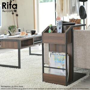 サイドテーブル幅31【送料無料】リ・コンテリタシリーズサイドテーブルRe・conteRitaseriesSofaSideTable(DRT-0008)幅31×奥行45.5×高さ62.5cm/北欧家具木製とスチールサイドテーブル収納付きナイトテーブル