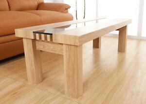ローテーブルセンターテーブル幅110cmクルーライトブラウンガラステーブル木製テーブルテーブル強化ガラス応接テーブルカフェテーブル北欧風シンプル新生活ひとり暮らし引越し