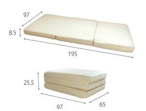 すのこマットシングルマットレス付き折りたたみ式檜すのこ国産ひのきの香りがいい良い香り木製ベッドすのこベッド湿気対策一人暮らしヒノキ折りたたみ折り畳みシングルベッドひのきの手触り新生活組立不要日本製[送料無料]
